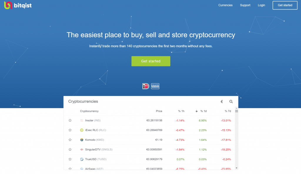 Bitqist-Website