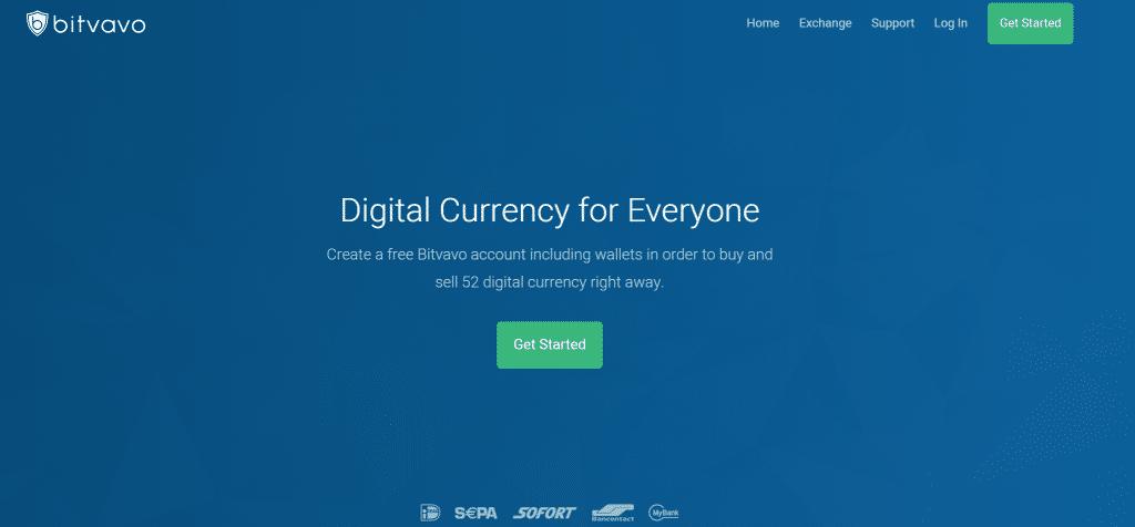 Digitale Währung für alle bei Bitvavo