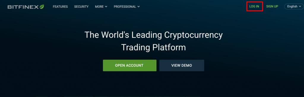 Fangen Sie mit Bitfinex an